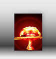 big bang background poster vector image