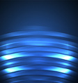 Blue Abstract Background neon vector image
