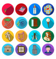 business ecology historyand other web icon in vector image vector image