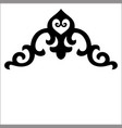 corner ornaments vector image