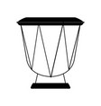 djembe drum musical instrument icon image vector image vector image