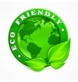 Green earth concept vector image