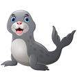 Seal cartoon vector image vector image