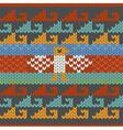 Seamless traditional peru knitting pattern vector image