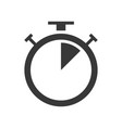 square wall clock icon outline design editable vector image vector image