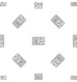 video conference pattern seamless vector image