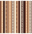 brown pattern with ornaments vector image vector image