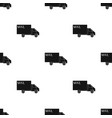 mail machinemail and postman single icon in black vector image vector image