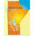 Manitoba vector image vector image