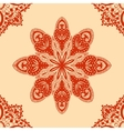 Red seamless pattern vector image vector image