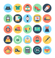 Shopping and E Commerce Icons 2 vector image vector image