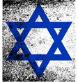 star of the flag of israel vector image
