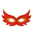 nice mask icon flat style vector image