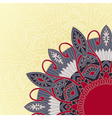 Ornament background in ethnic style vector image vector image