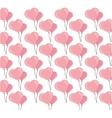 buckets balloons heart seamless pattern design vector image