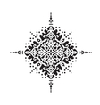 Circular pattern Islamic ethnic ornament for vector image vector image