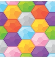 Colorful diamonds seamless graphic pattern vector image vector image