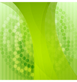 Elegant green technology background vector image vector image