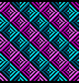geometric color rhombus seamless pattern vector image vector image