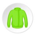 Jacket icon cartoon style vector image vector image