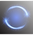 Special light flare effect vector image vector image