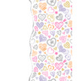 colorful pattern with torn paper vector image