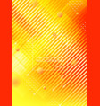 abstract yellow orange background with geometric vector image