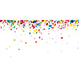 Background with painted drops vector image vector image