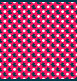 colored seamless pattern on a pink background vector image