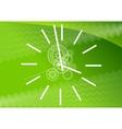 green watch vector image vector image