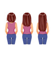 hair growth vector image