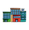 Hospital building high detailed medicine