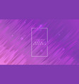 purple abstract dynamic background with diagonal vector image vector image