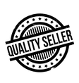 Quality Seller rubber stamp vector image vector image
