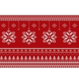 Scandinavian Merry Christmas style seamless vector image