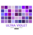 ultra violet background collection powder fashion vector image vector image