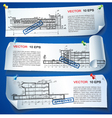 Architecture Plan Options vector image vector image