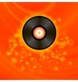 Retro Vinyl Disc vector image vector image