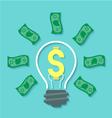 Money Idea Concept vector image