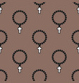 seamless cross pattern abstract background vector image