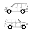 car lines vector image vector image