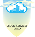 CLOUD SERVICES BANNER A4 SIZE vector image vector image