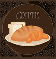 delicious and fresh breads vector image