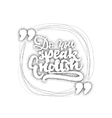 do you speak english - hand drawn dotworking vector image vector image