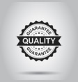 guarantee grunge rubber stamp on white background vector image vector image