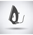 Steam iron icon vector image vector image