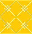 tile yellow decorative floor tiles pattern vector image vector image