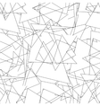 Geometric seamless simple black and white vector image