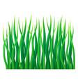 eco grass icon realistic style vector image