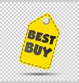 best buy hang tag vector image vector image